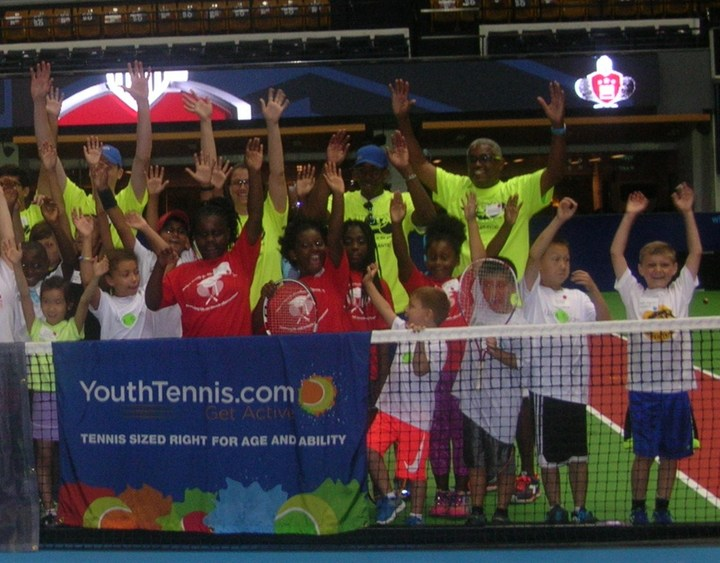 Our Young Tennis And Life Champions T-Shirt Photo