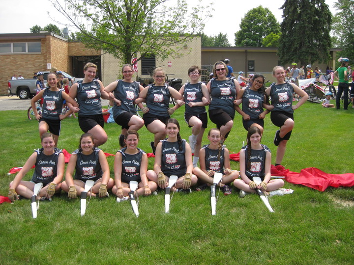 Crown Point High School Color Guard  T-Shirt Photo
