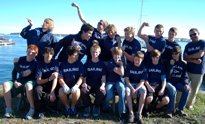 Portland Hs Sailing Team T-Shirt Photo