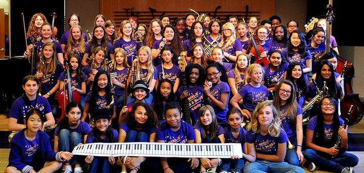 Girls' Jazz & Blues Camp, Berkeley, Ca T-Shirt Photo