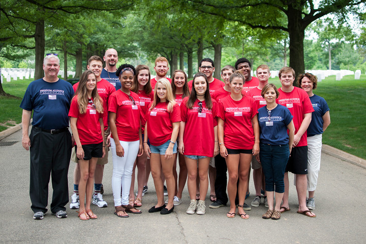 Freedom Alliance Scholarship Fund Retreat 2015 T-Shirt Photo