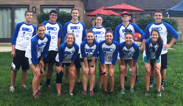 Siho Intern Having Fun Kick Ballin' And Looking Even Better Doing It! T-Shirt Photo