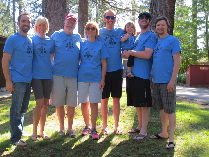 Camp Caillat, Graeagle, Ca T-Shirt Photo