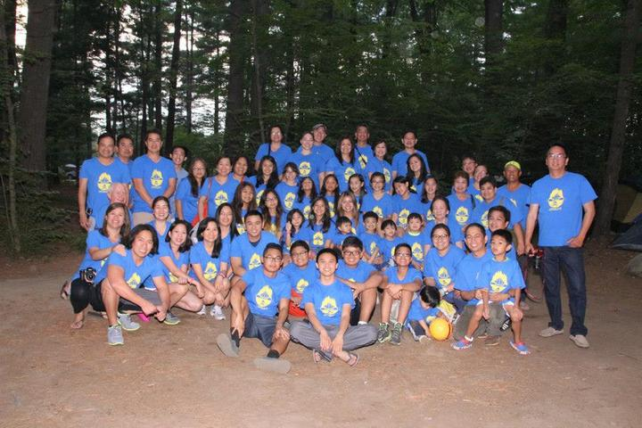 "A ""Small"" Get Together Camp With Friends And Family T-Shirt Photo"
