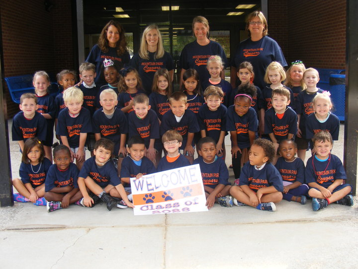 Kinder Camp Class Of 2028 T-Shirt Photo
