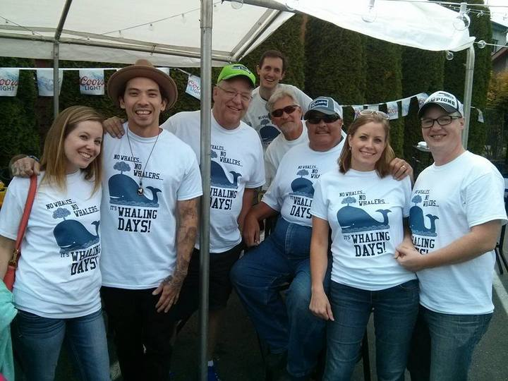 Whaling Days T-Shirt Photo