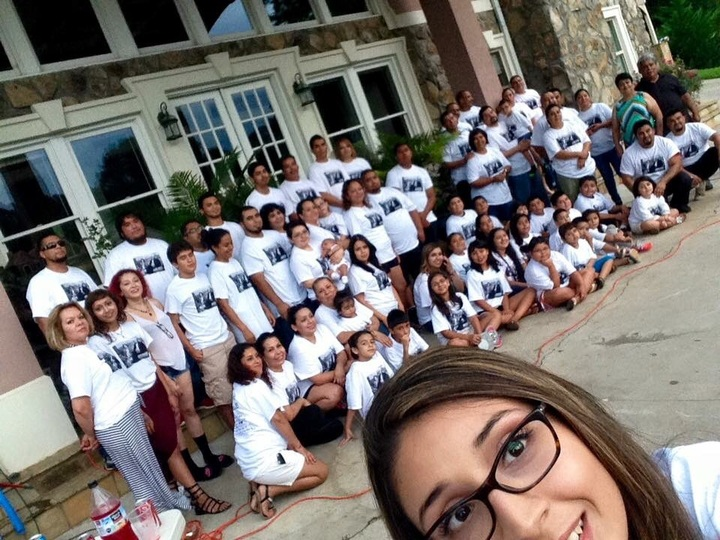 Family Reunion Martinez Esparza 2015 T-Shirt Photo