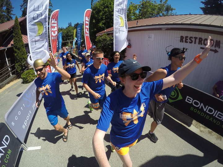Ragnar Relay Nwp 2015 Finish Line! T-Shirt Photo