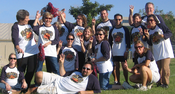 Forest Trail Kickball Team Triumphs In New Uniforms T-Shirt Photo