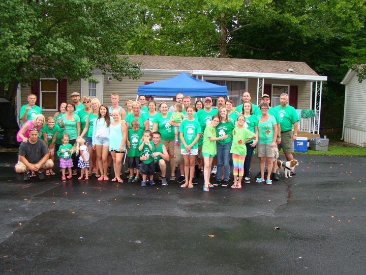 Leahy Family Reunion In Pigeon Forge Tenn. T-Shirt Photo