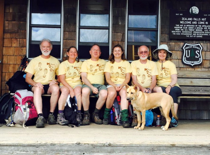 Killington Trail Camp Reunion 2015 T-Shirt Photo