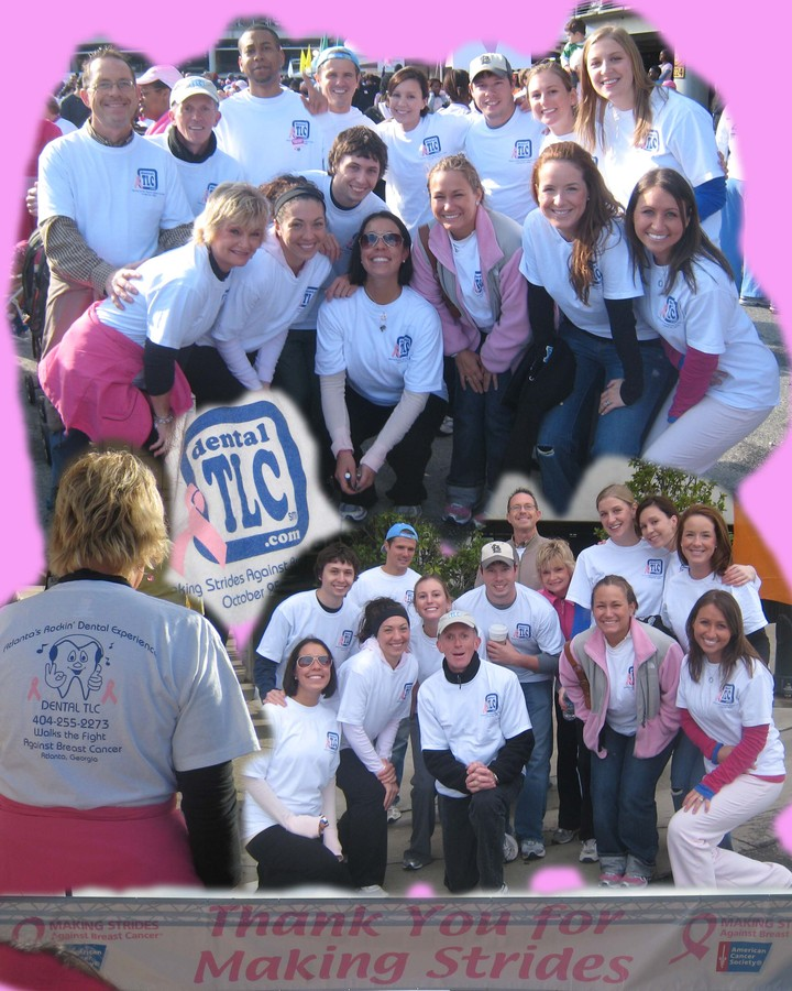 Dental Tlc Breast Cancer Walk T-Shirt Photo