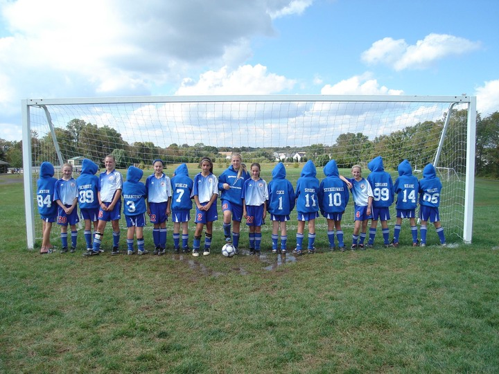Warrington Lightning Girls U 12 Soccer T-Shirt Photo