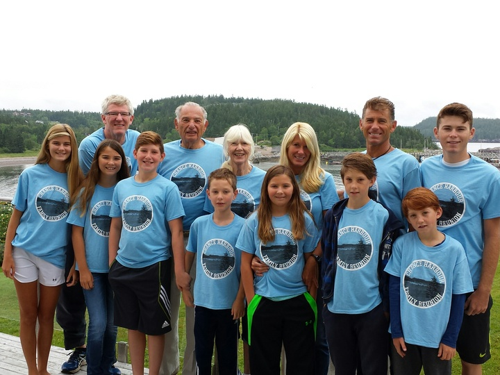 Chance Harbour Family Reunion T-Shirt Photo