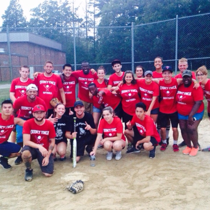 Ymca Softball With The Win T-Shirt Photo