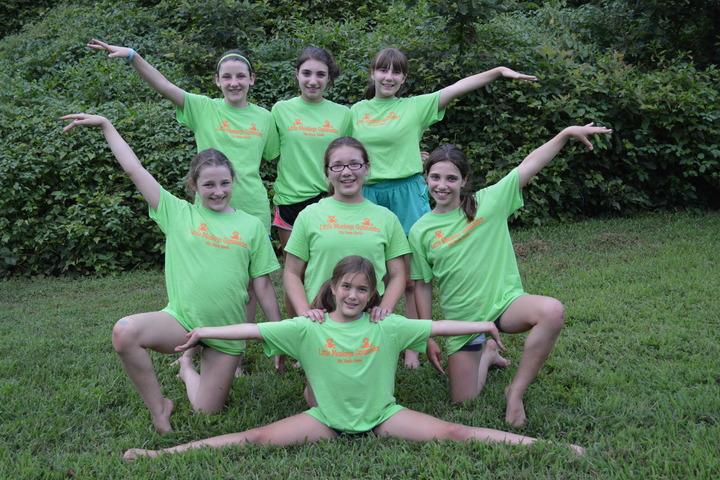 Little Monkeys Gymnastics T-Shirt Photo