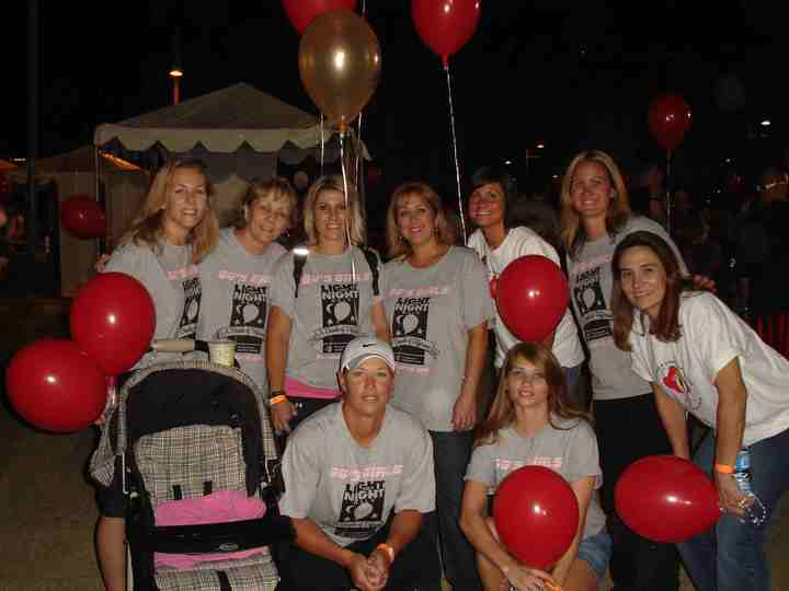 Light The Night Walk. In Memory Of Gg T-Shirt Photo