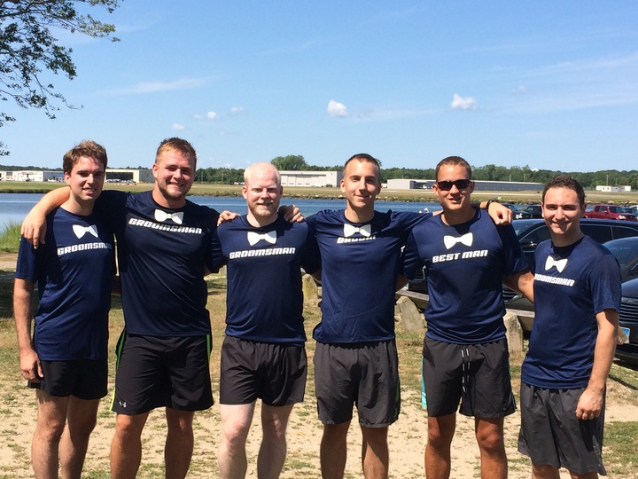 Pre Wedding Run With The Groomsmen T-Shirt Photo