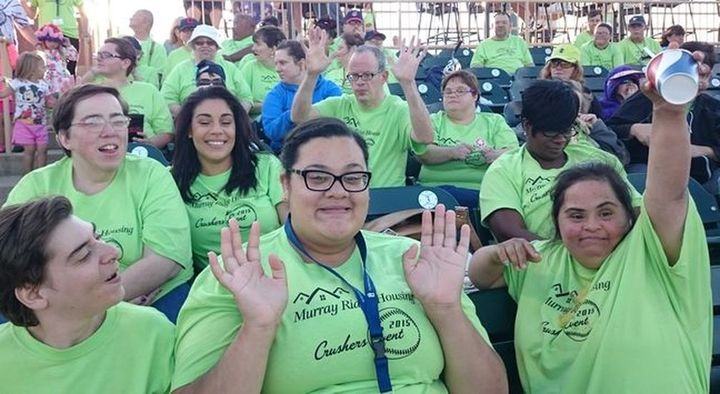 Murray Ridge Housing At Crushers Game 2015 T-Shirt Photo