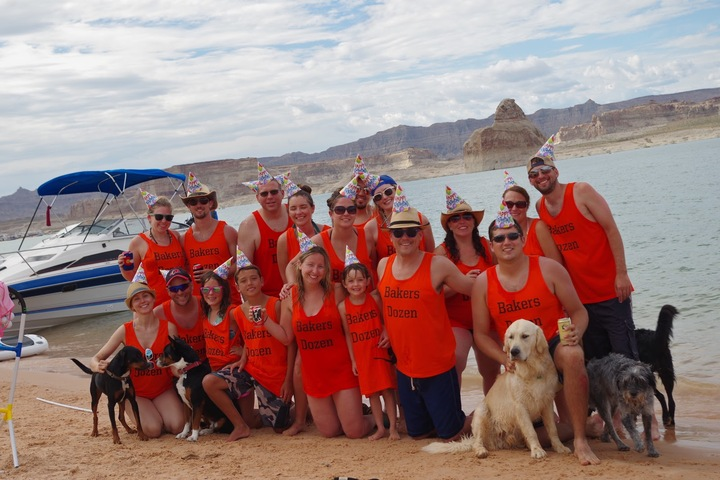 Lake Powell Baker Dozen  T-Shirt Photo