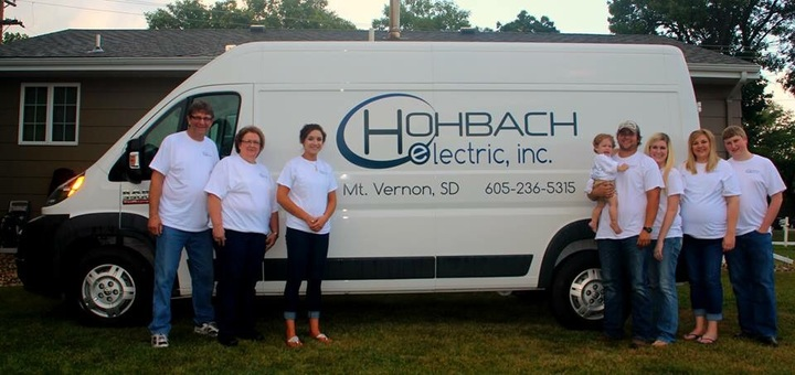 The Hohbach Electric, Inc. Crew! T-Shirt Photo