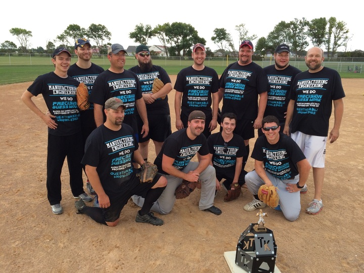 Company Softball Shirts T-Shirt Photo