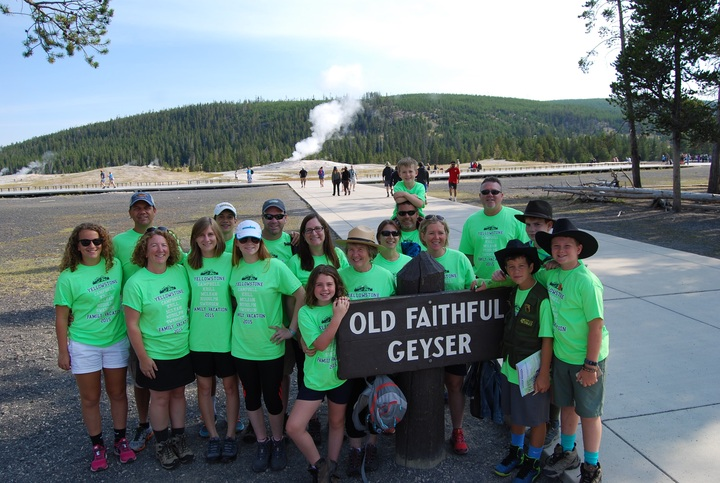 """We May Have Missed A Herd Of Buffalo, But Nobody Could Miss This Herd At Yellowstone! T-Shirt Photo"