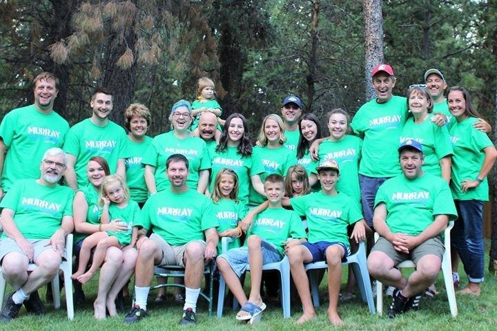 Murray Family Reunion Band 2015 T-Shirt Photo