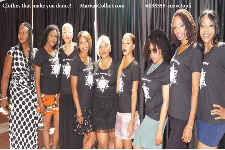 "These Ladies Know That Marian Collier Designs ""Make You Dance!"" T-Shirt Photo"