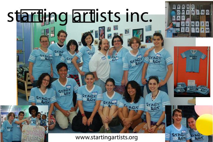 Start Art! T-Shirt Photo