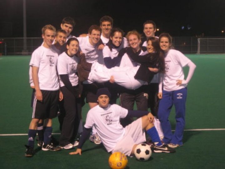 Claustrophobic Mimes Intramural Soccer Ud! T-Shirt Photo
