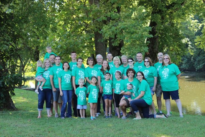 Scattered Family Roots Reunite! T-Shirt Photo