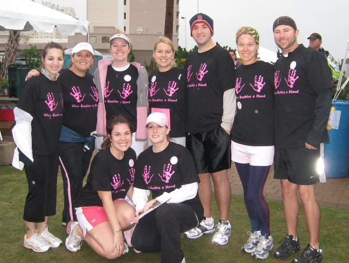 Race For The Cure 2008 T-Shirt Photo