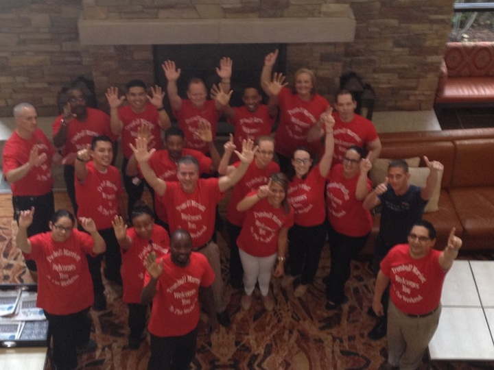 Trumbull Marriott Welcomes You To The Weekend T-Shirt Photo
