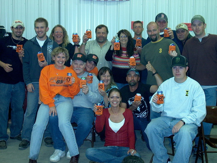"Toasting To A Great ""06"" Racing Season T-Shirt Photo"