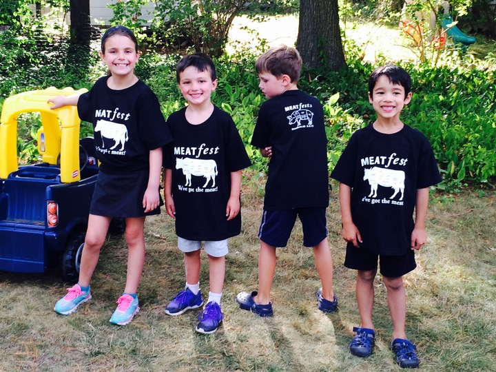 Young Meat Eaters T-Shirt Photo