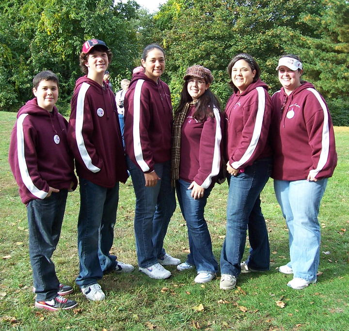 2008 Breast Cancer Awareness Walk T-Shirt Photo