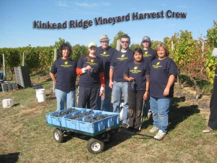 2008 Harvest Crew, Kinkead Ridge, Ohio T-Shirt Photo
