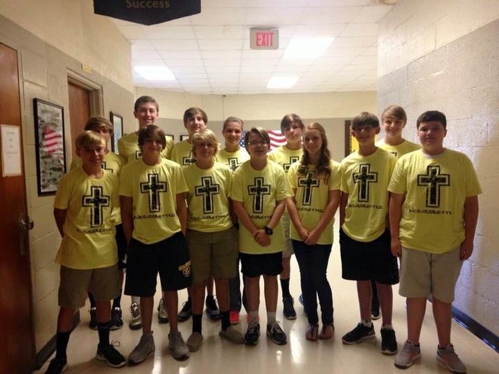 Mount Zion Baptist Church Youth T-Shirt Photo