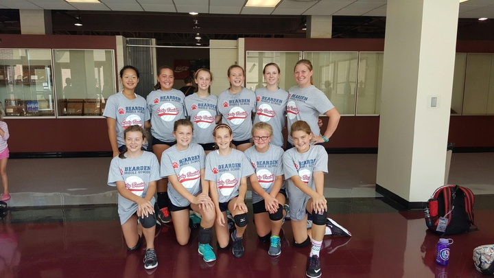 Lady Bruins Celebrate Victory T-Shirt Photo