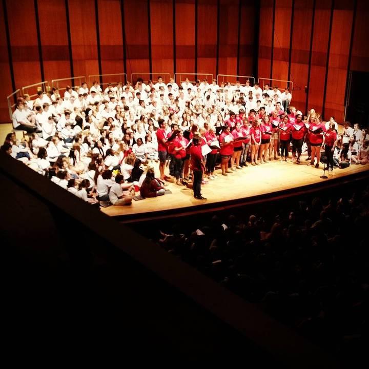 Cougar Choir Camp: 330 T Shirts Strong! T-Shirt Photo