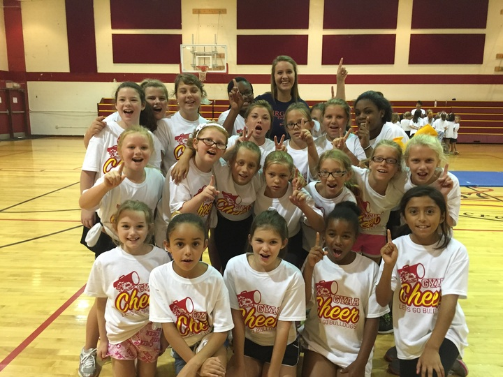 Gyaa Cheer Camp 2015 T-Shirt Photo