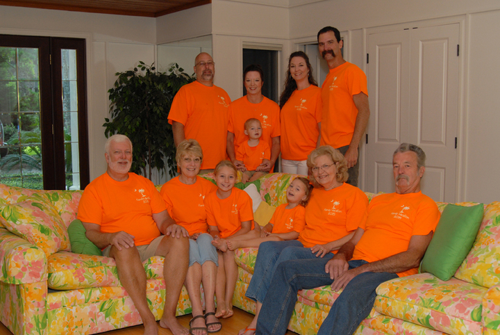 Family Vacation 2015 T-Shirt Photo