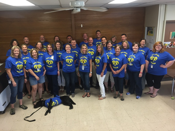 Wilson Middle School Staff T-Shirt Photo