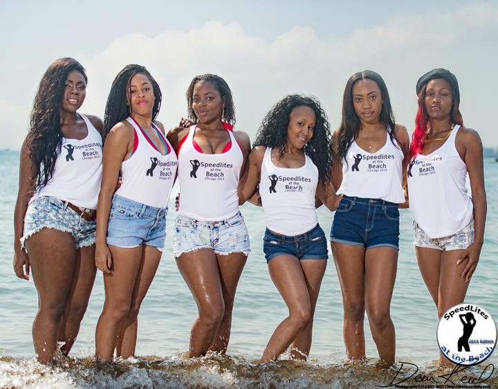 2015 Chicago Speedlites At The Beach Workshop T-Shirt Photo