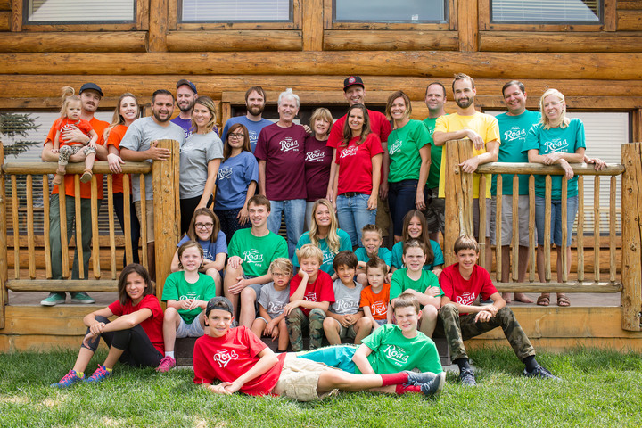The Ross Family Reunion 2015 T-Shirt Photo