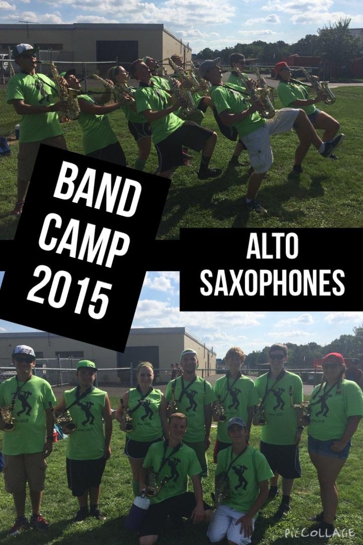 Neshaminy High School Alto Saxophones  T-Shirt Photo