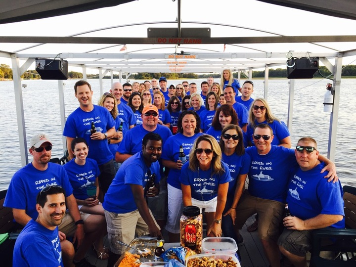 2nd Annual Barge On The River Cruise T-Shirt Photo