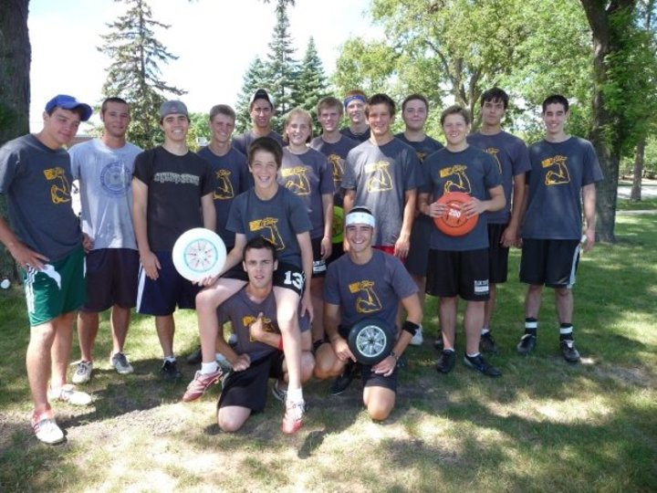 Lead Based Paint Ultimate Frisbee Team T-Shirt Photo