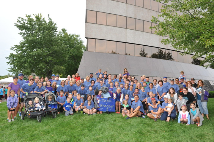 Head For The Cure 5k  Team Brecken T-Shirt Photo